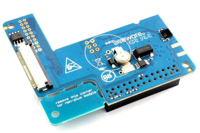 CCD - 868MHz radio, Clock and Display for Raspberry Pi